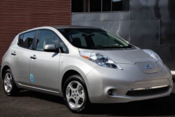 Check out the Nissan Leaf! Nissan